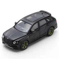 Spark Bentley Bentayga Pikes Peak Limited Edition By Mulliner 2018 - Black 1:43