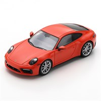 Spark Porsche 992 Carrera S 2019 - Red 1:43