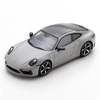 Spark Porsche 992 Carrera 4S 2019 - Light Grey 1:43