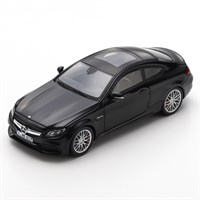 Spark Mercedes-AMG C63 Coupe 2018 - Black 1:43