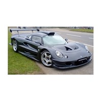 Sun Star Lotus Elise GT1 1997 - Black 1:18
