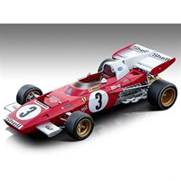 Tecnomodel Ferrari 312 B2 - 1971 Dutch Grand Prix - #3 C. Regazzoni 1:18