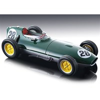 Tecnomodel Lotus 16 - 1959 British Grand Prix - #28 G. Hill 1:18
