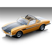 Tecnomodel Ferrari 330 GTS Michelotti 1967 - Yellow/Black 1:18