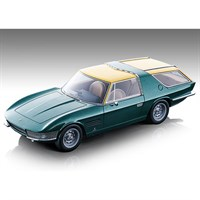 Tecnomodel Ferrari 330 GT 2+2 Shooting Brake 1967 - Metallic Green 1:18