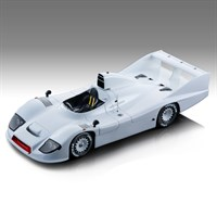 Tecnomodel Porsche 936 1977 - Press Car - White 1:18