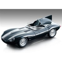 Tecnomodel Jaguar D-Type - Press Car - Gloss Dark Green 1:18