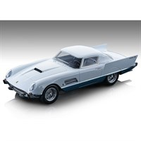 Tecnomodel Ferrari 410 Superfast 1956 - White/Light Blue 1:18