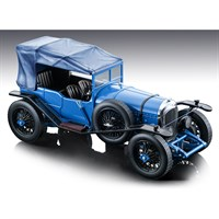 Tecnomodel Bentley 3 Litre Sport Street Version 1924 - Gloss Blue Roof On 1:18