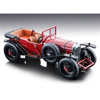 Tecnomodel Bentley 3 Litre Sport Street Version 1924 - Glass Dark Red Roof Off 1:18