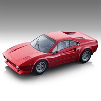 Tecnomodel Ferrari 308 GTB 4 LM - 1976 Press Car - Red 1:18