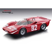 Tecnomodel Abarth 2000 S - 1st 1969 Mountain Europe Championship - #92 A. Merzario 1:18