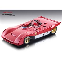 Tecnomodel Ferrari 312 PB 1971 - Press Car - Red 1:18