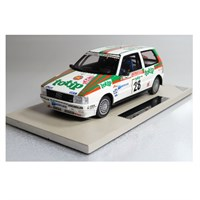 Top Marques Fiat Uno Turbo ie - 1986 San Remo Rally - #28 A. Fiorio 1:18