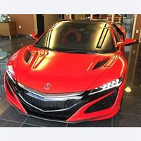 TopSpeed Acura NSX Curva - Red 1:18