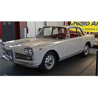TopSpeed Alfa Romeo 2000 Sprint - Cream White 1:18