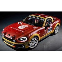 TopSpeed Abarth 124 Spider Rally Concept - 1:18