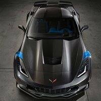 TopSpeed Chevrolet Corvette Grand Sport Watkins Glen - Grey Metallic 1:18