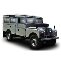 TrueScale Miniatures Land Rover Series I Station Wagon 1965 - Welsh Grey 1:43