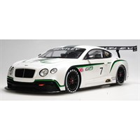 TrueScale Miniatures Bentley Continental GT3 - 2012 Paris Motor Show - 1:18