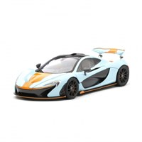 TrueScale Miniatures McLaren P1 2014 - Blue/Orange 1:18