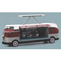 TrueScale Miniatures GM Futurliner 1954 - Power for the Air Age - 1:43