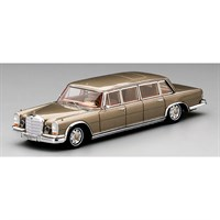 TrueScale Miniatures Mercedes 600 Pullman 6-Door King Baudouin of Belgium 1964 - 1:43