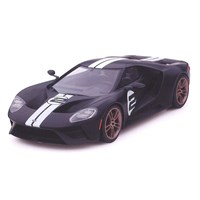 TrueScale Miniatures Ford GT Heritage Edition - Matte Black 1:18
