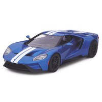 TrueScale Miniatures Ford GT - Blue / White 1:18