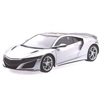 TopSpeed Honda NSX - Source Silver Metallic 1:18
