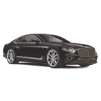 TopSpeed Bentley New Continental GT - Onyx Black 1:18