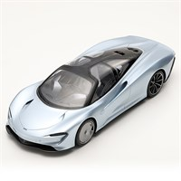 TopSpeed McLaren Speedtail Presentation Car 1:18