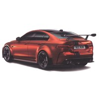 TopSpeed Jaguar XE SV Project 8 - Orange 1:18