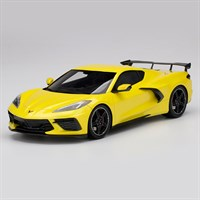 TopSpeed Chevrolet Corvette Stingray 2020 - Accelerate Yellow Metallic 1:18