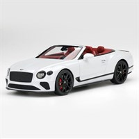 TopSpeed Bentley Continental GT Convertible - Ice White 1:18