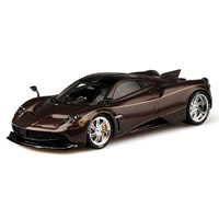 TrueScale Miniatures Pagani Huayra Dinastia Chiwen - Carbon Red 1:43