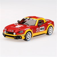 TrueScale Miniatures Abarth 124 Spider Rally Concept - 1:43