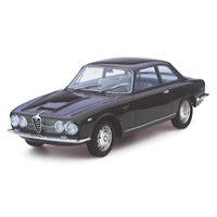 TrueScale Miniatures Alfa Romeo 2600 Sprint - Dark Red 1:43