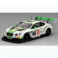 TrueScale Miniatures Bentley Continental GT3 - 2016 Spa 24 Hours - #24 1:43