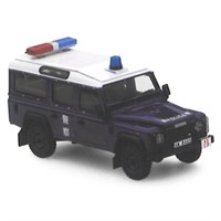 TrueScale Miniatures Land Rover Defender Hong Kong Police Vehicle - 1:43
