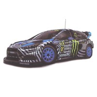 TrueScale Miniatures Ford Focus RS RX - 2016 FIA World Rallycross - #43 1:43