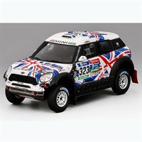 TrueScale Miniatures Mini All4 Racing - 2016 Dakar Rally - #323 1:43