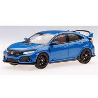 TrueScale Miniatures Honda Civic Type R - Aegean Blue Metallic 1:43
