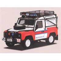 TrueScale Miniatures Land Rover Defender 90 - Hong Kong Police 1:43