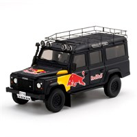 TrueScale Miniatures Land Rover Defender Red Bull Promotional Vehicle 1:43