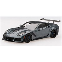 TrueScale Miniatures Chevrolet Corvette C7 ZR-1 - Dark Shadow Grey 1:43