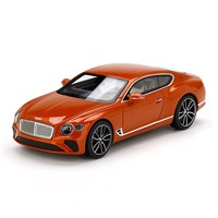 TrueScale Miniatures Bentley Continental GT - Orange Flame 1:43