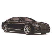 TrueScale Miniatures Bentley New Continental GT - Onyx Black 1:43