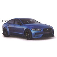 TrueScale Miniatures Jaguar XE SV Project 8 - Blue 1:43