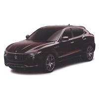 TrueScale Miniatures Maserati Levante S - Dark Red 1:43